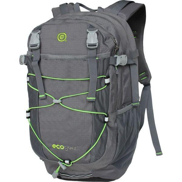 エコギアー メンズ バックパック・リュックサック バッグ Grizzly Laptop Backpack