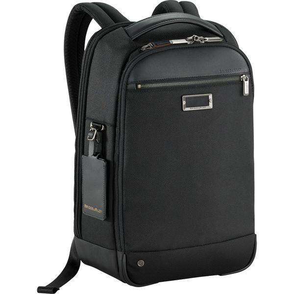 ブリグスアンドライリー メンズ スーツケース バッグ @work Medium Slim Laptop Backpack