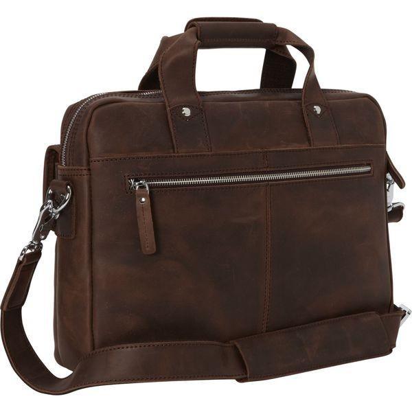 ヴァガボンドトラベラー メンズ スーツケース バッグ Classic Medium Full Grain Leather Messenger Laptop Bag
