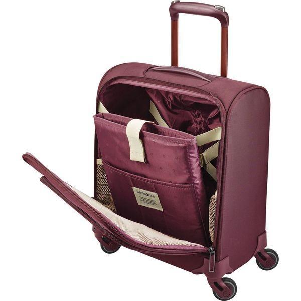 サムソナイト メンズ スーツケース バッグ Flexis Underseat Spinner Carry-On w/USB Port