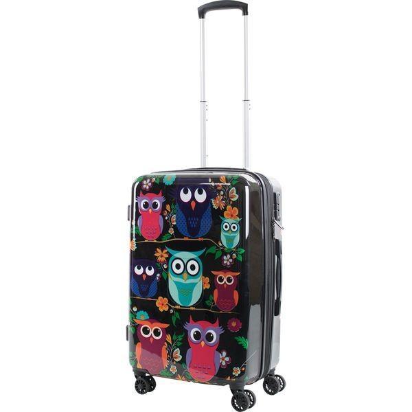 アメリカングリーントラベル メンズ スーツケース バッグ Owls 20 Expandable Hardside Carry-On Spinner