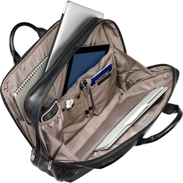 ブリグスアンドライリー メンズ スーツケース バッグ @work Leather Medium Brief