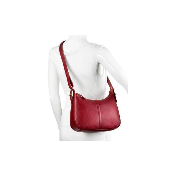 デレクアレクサンダー メンズ ショルダーバッグ バッグ Full Top Zip Structured Shoulder Bag