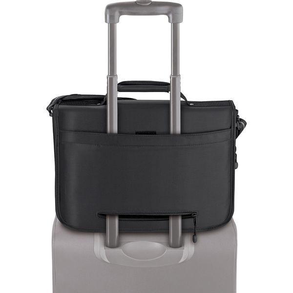 ソロ メンズ スーツケース バッグ Expandable 15.6 Laptop Messenger