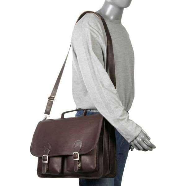ピエール メンズ スーツケース バッグ Executive Two Pocket Portfolio