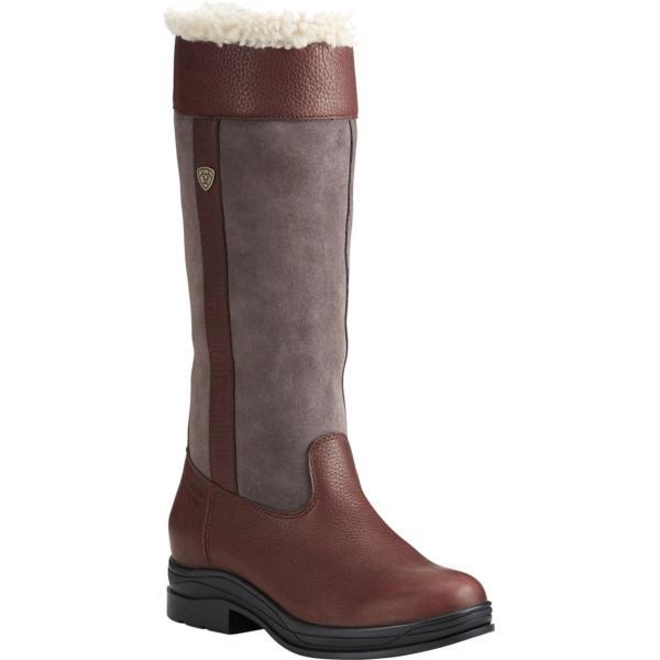 アリアト レディース ブーツ・レインブーツ シューズ Windermere Fur H2O Knee High Boot