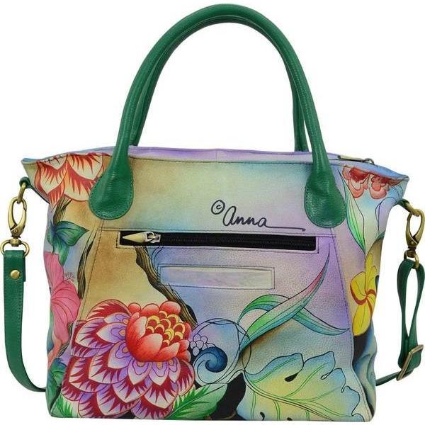 アンナバイアナシュカ レディース ショルダーバッグ バッグ Hand Painted Slouch Tote Bag 8293