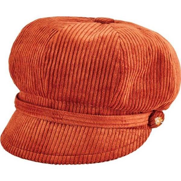 サンディエゴハット レディース 帽子 アクセサリー Wide Wale Corduroy Baker Newsboy Cap CTH8126