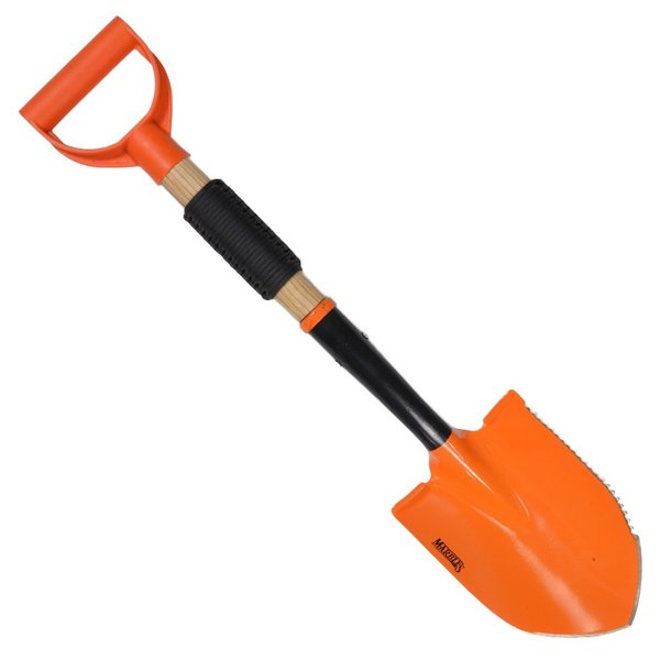 マーブルス シャベル MR392 オレンジコーティング パラコード付  ショベル 穴掘りシャベル エンピ 円匙 スコップ イントレンチツール