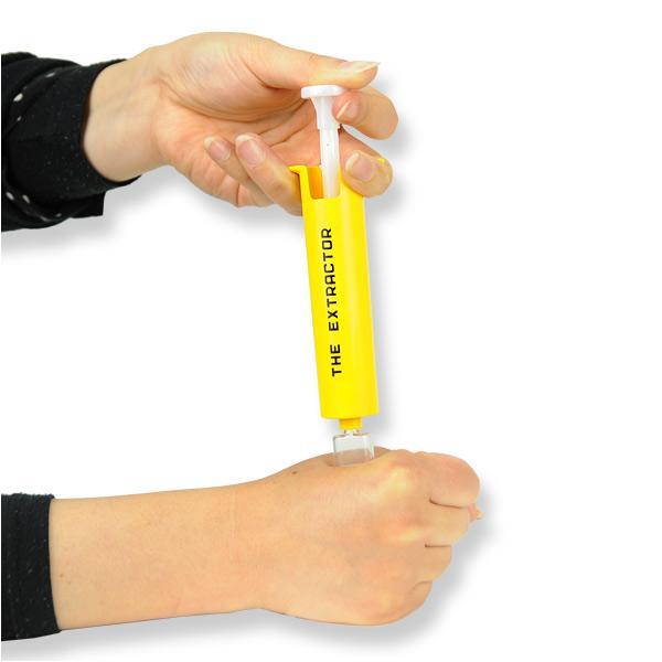 毒吸引器 エクストラクター ポイズンリムーバー 毒吸出し機 吸引機 害虫除去