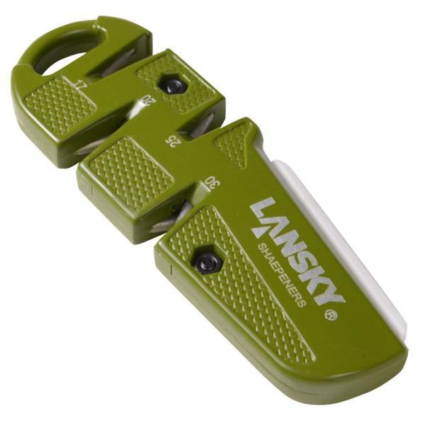 ランスキー シャープナー D-SHARP マルチアングル 波刃対応 砥石 といし タッチアップ シャープニングストーン セラミックベンチストーン
