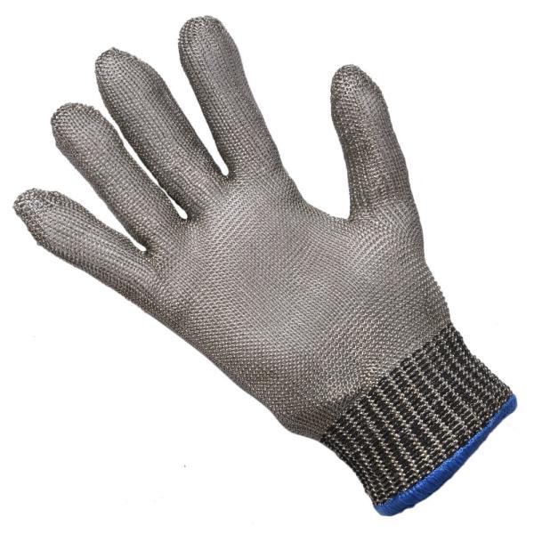 防刃グローブ 片手 ステンレスワイヤー製 インナーグローブ付 軍手 作業用グローブ 作業用手袋 防刃手袋 耐刃 ワークグローブ レザーグローブ