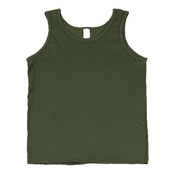 Rothco タンクトップ コットン混紡 [ オリーブドラブ / Lサイズ ] |Rothco メンズTシャツ 半そで プリント デザイン スポーツ