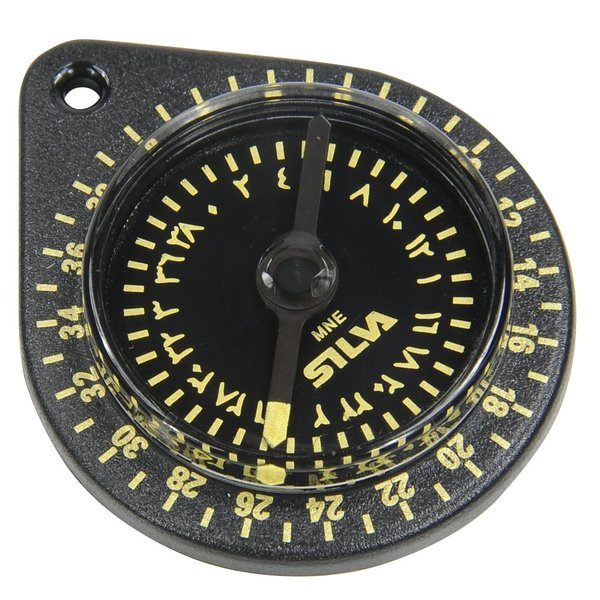 SILVA 方位磁針 キブラコンパス 方位磁石 羅針盤 方角 キーリングコンパス 簡易コンパス