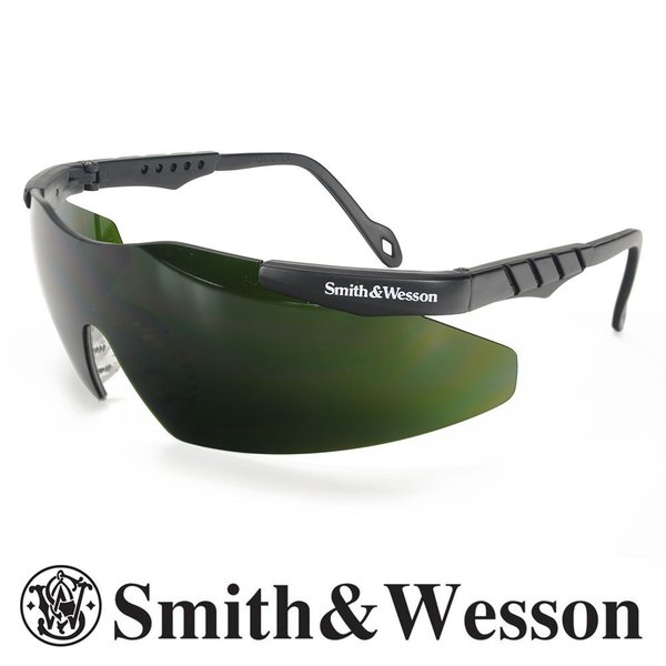 S&W 遮光めがね マグナム ダークグリーン 遮光度5 フィルターレンズ 遮光レンズ ガス溶接メガネ | スミス&ウェッソン スミス&ウエッソン