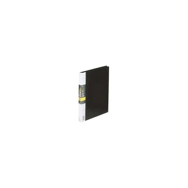 (まとめ)コレクト 名刺整理帳 K-613-BK A4L 300枚用 黒〔×2セット〕