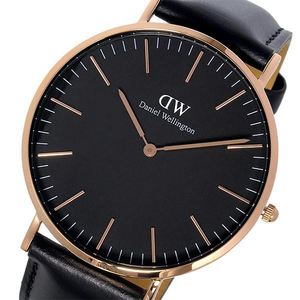 ダニエルウェリントン腕時計CLASSICSHEFIELD40ローズゴールドDW00100127DW00600127ブラックブラッ