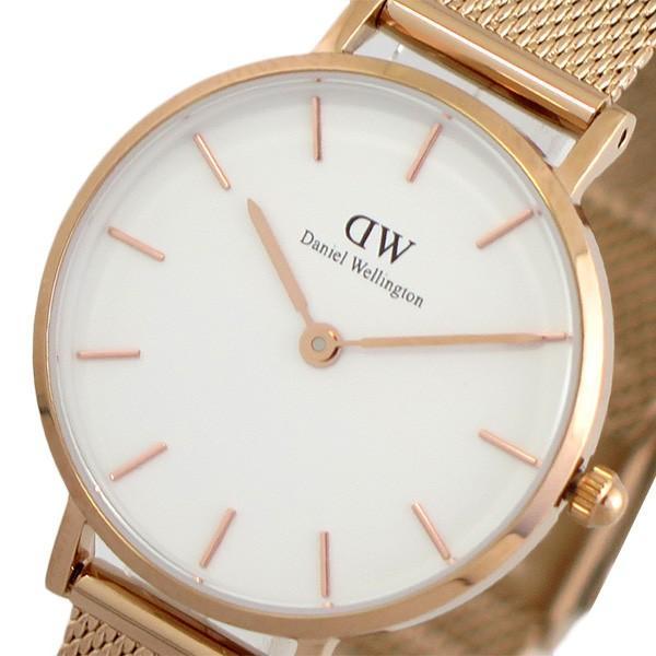 ダニエルウェリントン腕時計PETITEMELROSE28ローズゴールドDW00100219ホワイトピンクゴールドホワイト