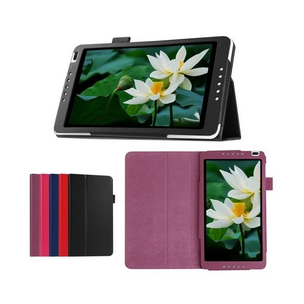 docomo dtab d-01G / Y!mobile 403HW / MediaPad M1 8.0  ケース タブレット カバー 液晶保護フィルム付|rexiao