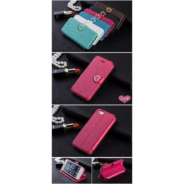 iPhone5s iPhone5 ハートスタンドケース カバー fabitoo|rexiao|02