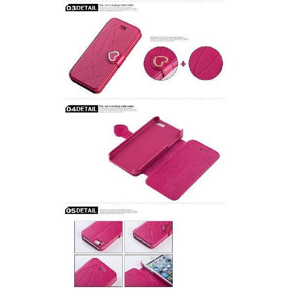 iPhone5s iPhone5 ハートスタンドケース カバー fabitoo|rexiao|06