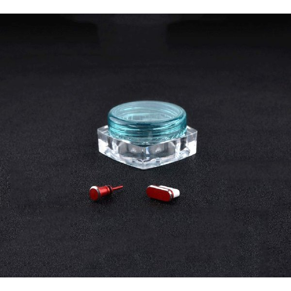 Sakula Type-C コネクタカバーキャップ&イヤホンジャックキャップ アルミ製 超耐久性 防塵 防砂 防水 タブレット/スマホ対応|rexisss|11