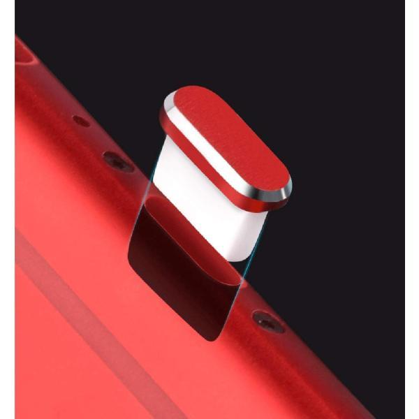 Sakula Type-C コネクタカバーキャップ&イヤホンジャックキャップ アルミ製 超耐久性 防塵 防砂 防水 タブレット/スマホ対応|rexisss|16
