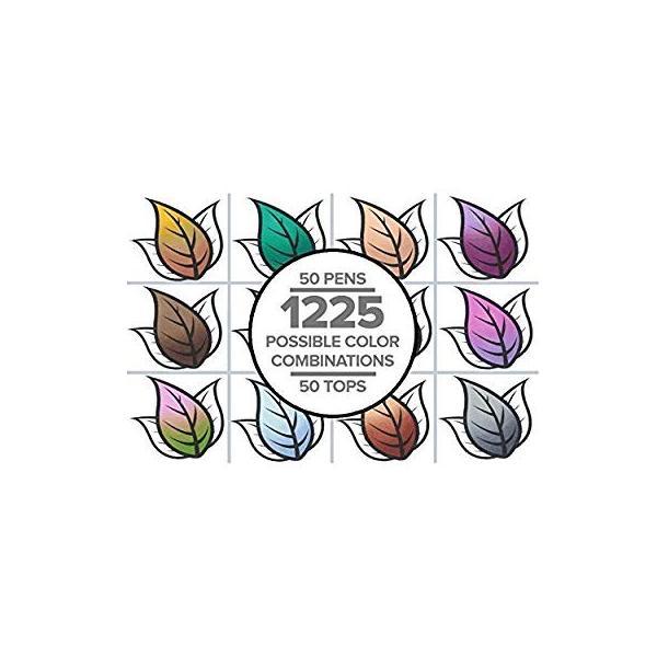 カメレオンペン カラートップ 色のブレンド 5本 EARTH TONES SET(正規品) rexisss 19