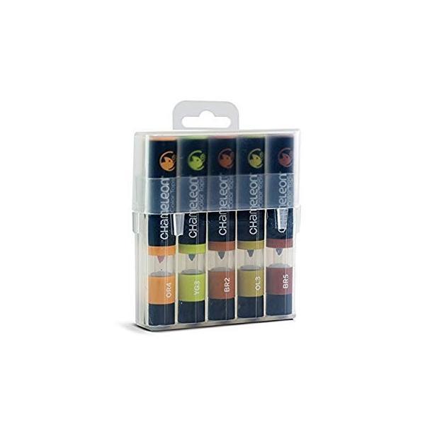 カメレオンペン カラートップ 色のブレンド 5本 EARTH TONES SET(正規品) rexisss 10
