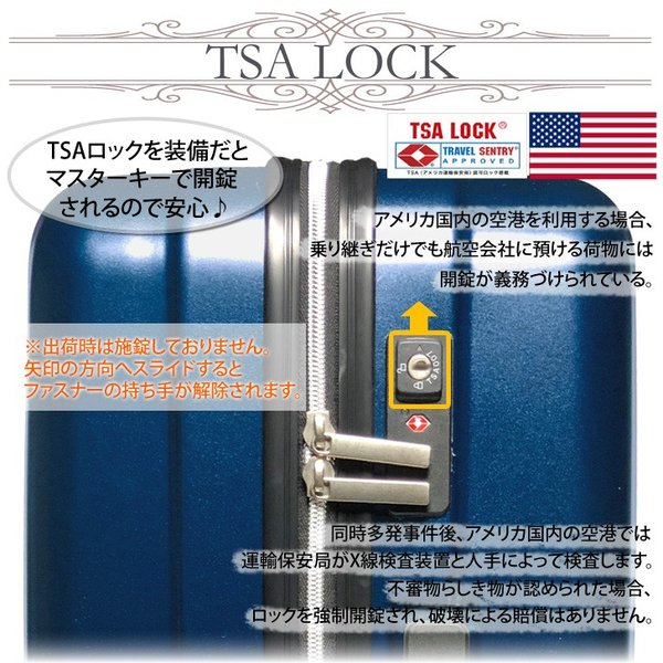 スーツケース ストッパー Mサイズ 軽量 ダブルキャスター キャリーケース TSAロック ファスナー|rexstar|03