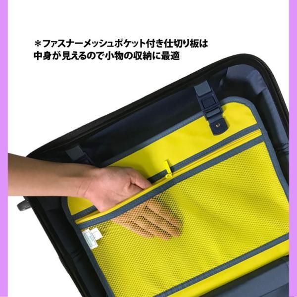スーツケース キャラクター 機内持ち込み 8輪 ダブルキャスター TSAロック スマイル スマイリー すまいる ニコちゃん rexstar 06