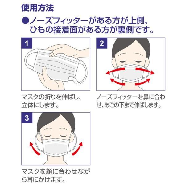 在庫有り 平日15時迄の注文分は即日発送 マスク 50枚入 耳が痛くなりにくい 使い捨て レギュラーサイズ 不織布 3層構造 花粉症 PM2.5 Unifree 中国製|rexstar|04