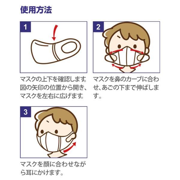 在庫有り 平日15時迄の注文分は即日発送 子供用マスク 立体型 30枚入 動物柄 耳が痛くなりにくい 使い捨て SSサイズ 不織布 3層構造 Unifree 中国製|rexstar|04