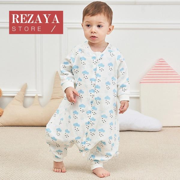 新生児 スリーパー 赤ちゃん おくるみ  ガーゼ ジッパー型 柔らかい 綿毛布 寝具 ベビー パジャマ 出産祝い 退院 お宮参り 冷房対策 あったか60 70 80 90 95 rezayastore