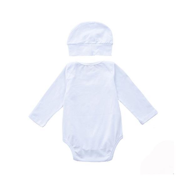 新生児 スリーパー 赤ちゃん おくるみ プリント 2点セット  袖あり 綿毛布 寝具 ベビー パジャマ 出産祝い 退院 お宮参り 冷房対策 あったか60 70 80 90 95|rezayastore|04