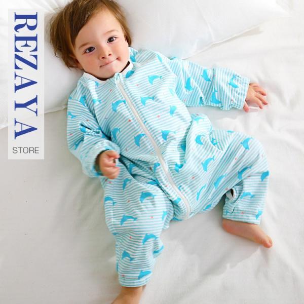 新生児 スリーパー 赤ちゃん おくるみ ジッパー型  オールシーズン 綿毛布 寝具 ベビー パジャマ 出産祝い 退院 お宮参り 冷房対策 あったか60 70 80 90 95 rezayastore