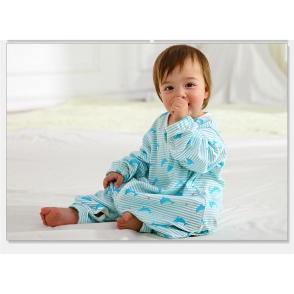 新生児 スリーパー 赤ちゃん おくるみ ジッパー型  オールシーズン 綿毛布 寝具 ベビー パジャマ 出産祝い 退院 お宮参り 冷房対策 あったか60 70 80 90 95 rezayastore 05