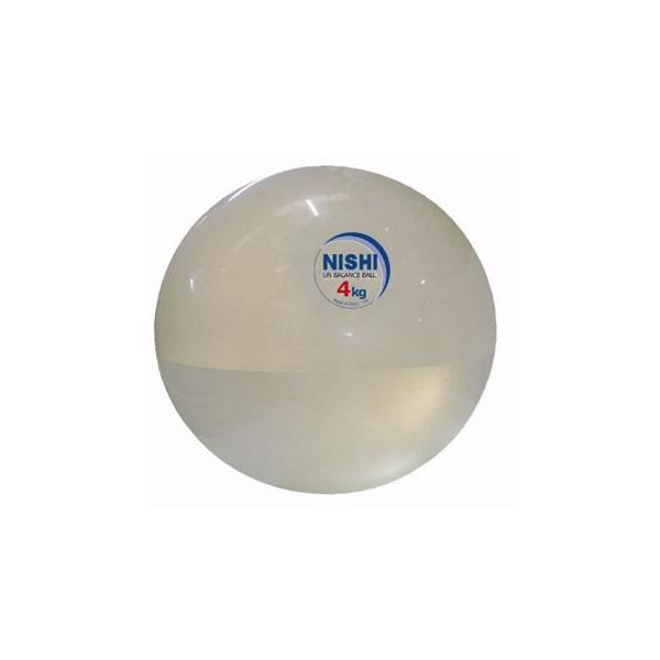 ニシスポーツ アンバランスメディシンボール4kgφ26cm NT5924