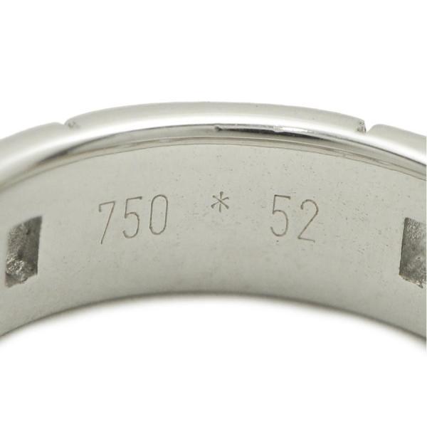 エルメス ヘラクレス リング K18WG 750 ホワイトゴールド #52 程度SA USED 美品 HERMES