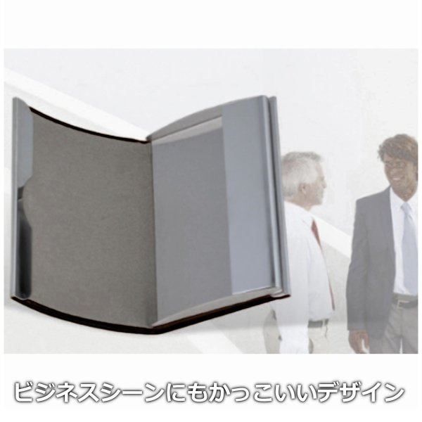 カードケース 名刺入れ メンズ レディース かっこいいレザーの2つ折りカードケース 父の日 プレゼント 送料無料|ribution|03