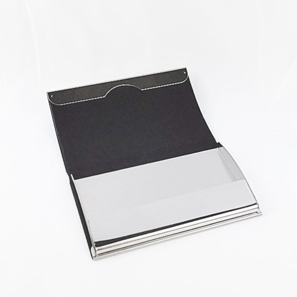 カードケース 名刺入れ メンズ レディース かっこいいレザーの2つ折りカードケース 父の日 プレゼント 送料無料|ribution|04