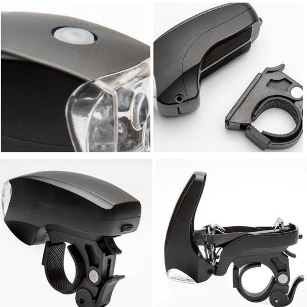 自転車ライト LED ヘッドライト 電池式 自転車用 ライト 5LED 3段階 点灯 明るい 簡単取付 送料無料 ribution 07