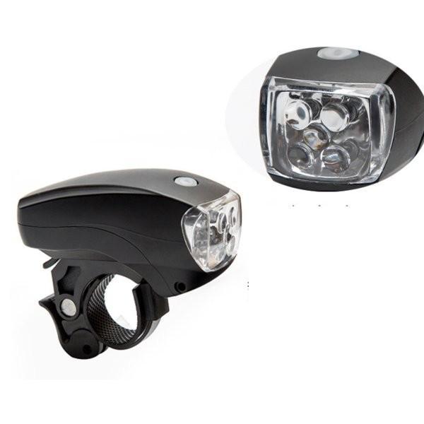 自転車ライト LED ヘッドライト 電池式 自転車用 ライト 5LED 3段階 点灯 明るい 簡単取付 送料無料 ribution 08