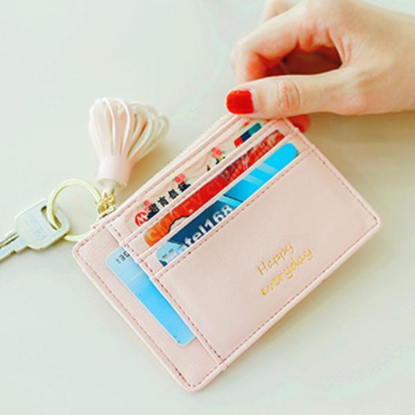 パスケース レディース カードケース キーケース 小銭入れ 便利 可愛い|ribution|04