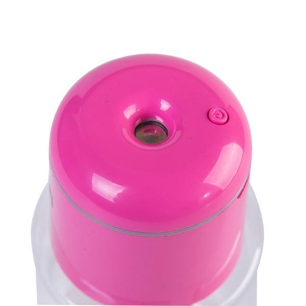 加湿器 USB ペットボトル加湿器 ミニ加湿器 LED付  自動停止機能搭載 150ml オフィス用 送料無料|ribution|05