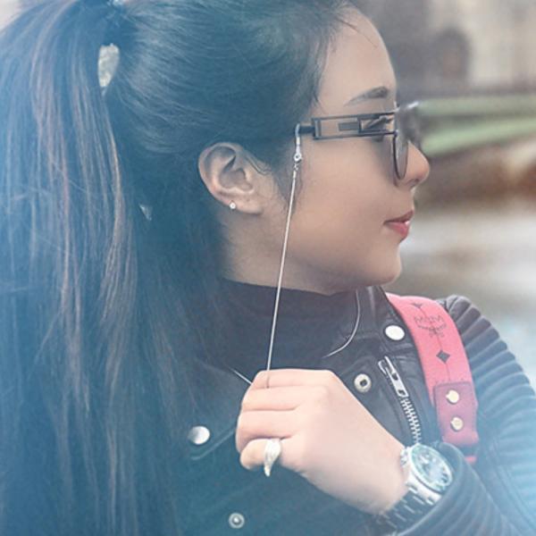 メガネチェーン メガネストラップ 眼鏡 ストラップ 首さげ おしゃれ レディース かわいい 眼鏡 めがね ribution 02