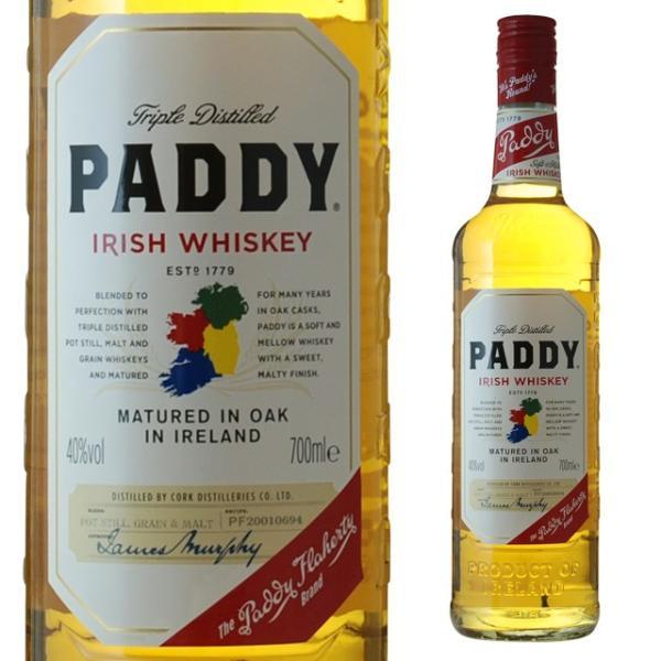 パディ アイリッシュ・ウイスキー 40度 700ml ウィスキー ギフト プレゼント 内祝い ウイスキー アイリッシュウイスキー 父親 酒 還暦祝い 開店祝い 結婚祝い 父
