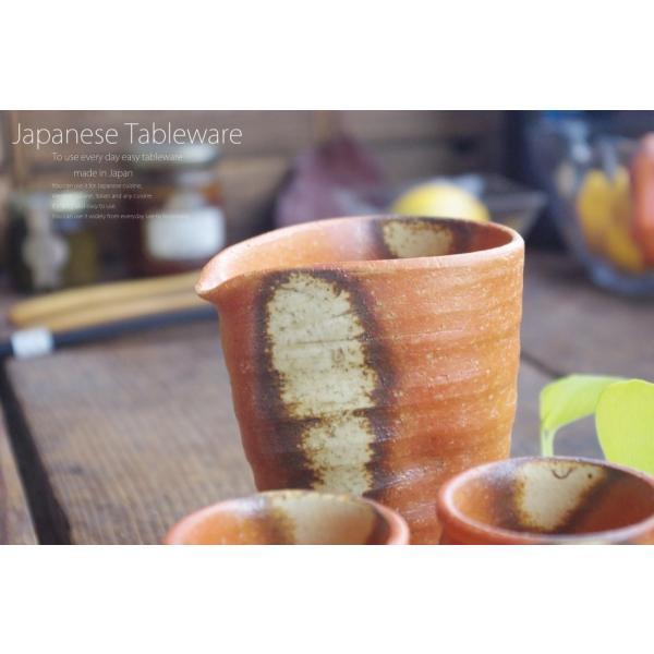 松助窯 半酒器3点セット ひだすき 和食器 セット|ricebowl|04