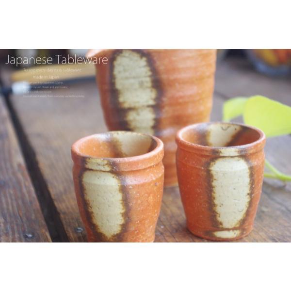 松助窯 半酒器3点セット ひだすき 和食器 セット|ricebowl|05