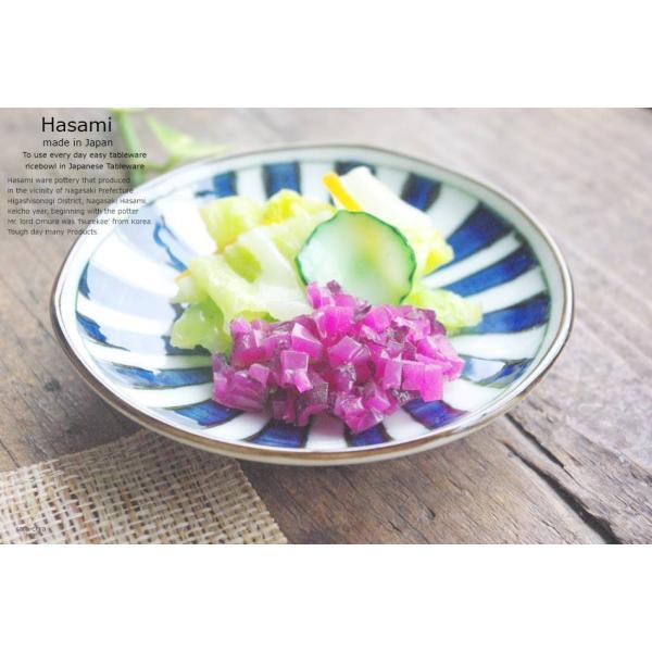 和食器 波佐見焼 染付けブルー 短冊 小皿 プチディッシュ プレート 和皿 醤油 漬物 薬味|ricebowl|04